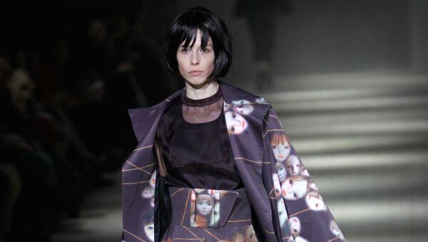 Показ коллекции одежды бренда Bevza на Неделе моды в Киеве. Архивное фото