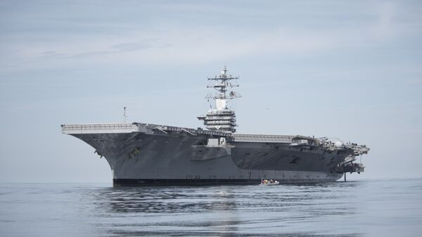 Авианосец ВМС США Эйзенхауэр (USS Dwight D. Eisenhower)