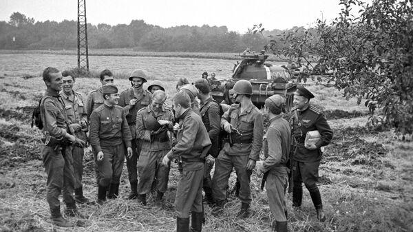Ввод войск стран Организации Варшавского договора в Чехословакию. 21 августа 1968