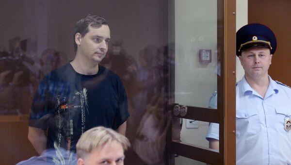 Подчиненный экс-заместителя директора ПАО РКК Энергия Алексея Белобородова Олег Пыльнов в Бабушкинском суде. 20 августа 2018
