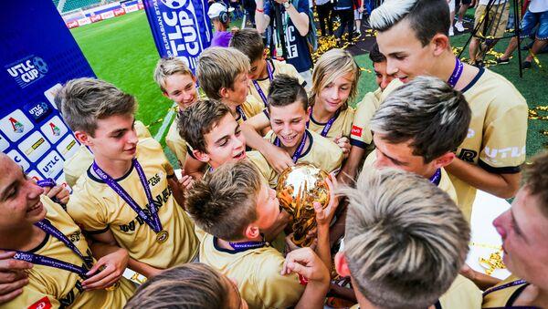 Победители Международного молодежного кубка по футболу UTLC Cup 2018