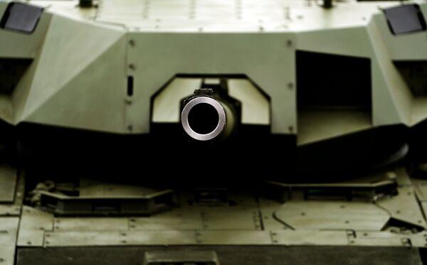 Танк Т-14 Армата на выставке Армия России – завтра