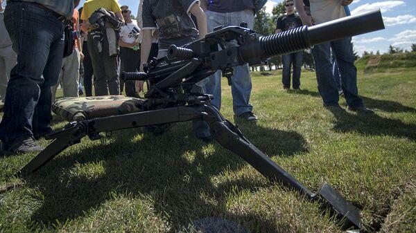 Автоматический станковый гранатомет АГС-40 Балкан