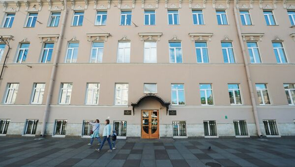 Здание управления Петербургского метрополитена. 22 августа 2018