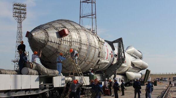 Вывоз ракеты Протон-М