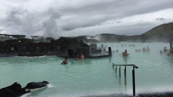 Голубая лагуна – геотермальное озеро в окрестностях Рейкьявика