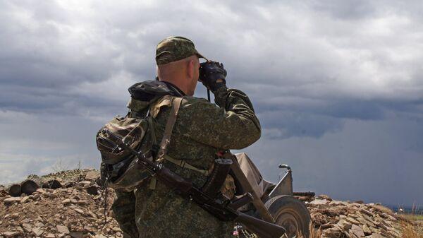Военнослужащий Народной милиции ЛНР