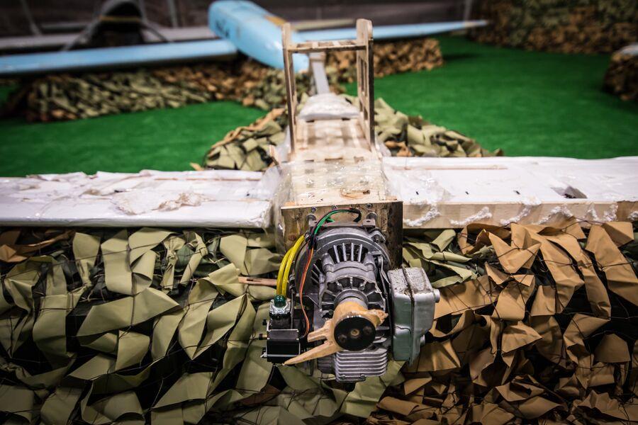 Ударный беспилотник кустарного производства