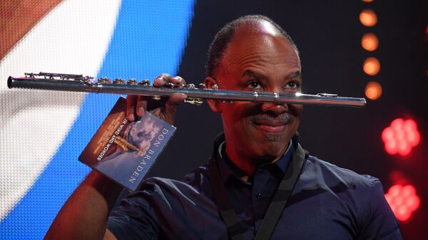Саксофонист Дон Брейден (США) во время выступления на 16-м международном музыкальном фестивале Koktebel Jazz Party