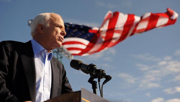 Политик-республиканец, сенатор США Джон Маккейн. Архивное фото