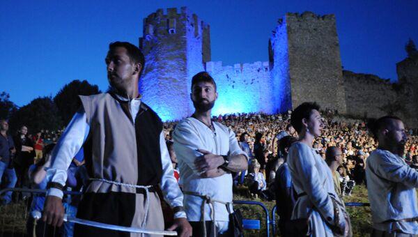 Рыцарский фестиваль Just Out в Сербии