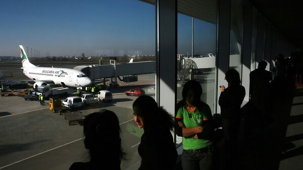 Самолет авиакомпании Bulgaria Air