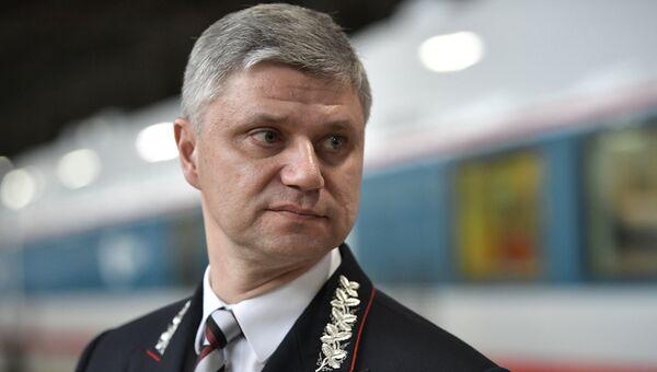 Президент ОАО Российские железные дороги Олег Белозеров. Архивное фото