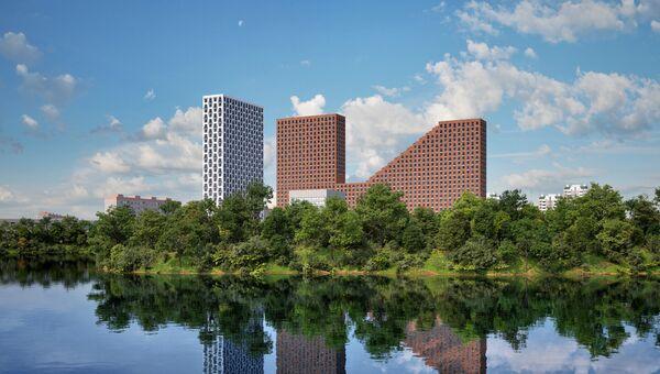 Жилой комплекс ЛенинграDka 58 (Изображения на фотографиях и рисунках могут отличаться от реального объекта)