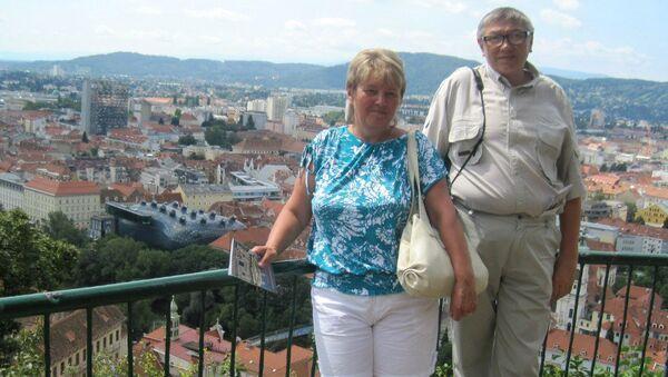 Сергей Голубятников с женой