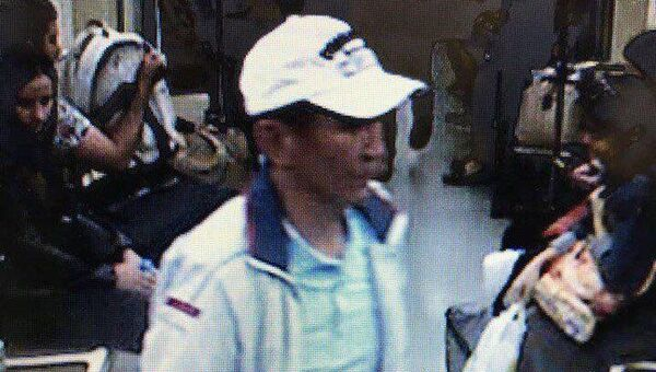 Нурлан Муратов, подозреваемый в причинении смертельного ранения сотруднику полиции на станции метро Курская в Москве