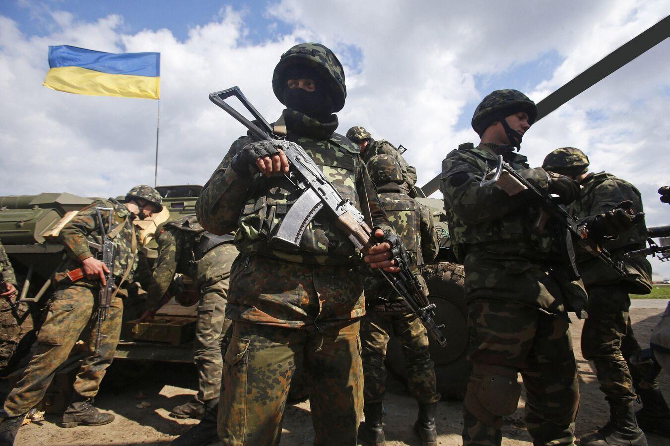 Украинская армия в Донбассе вне закона, считает Генпрокуратура Украины