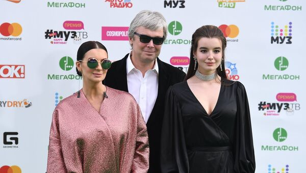 Александр, Екатерина и Александра Стриженовы
