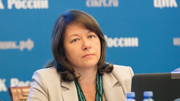 Секретарь ЦИКа Майя Гришина