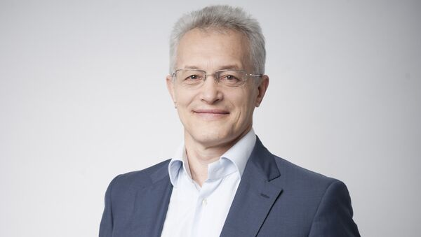 Лидер рабочей группы Аэронет космонавт-испытатель Сергей Жуков