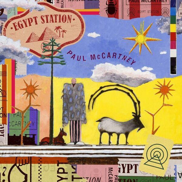 Обложка албома Пола Маккартни Egypt Station
