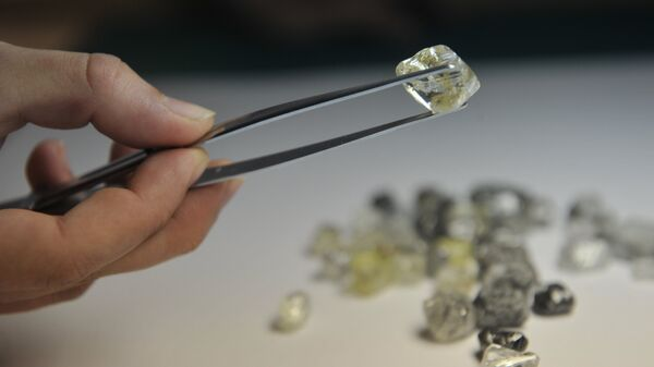 В Якутии крупный алмаз назвали в честь российской вакцины от коронавируса