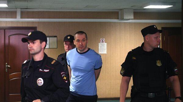 Дмитрий Захарченко в Пресненском суде Москвы