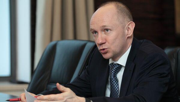 Заместитель генерального директора Алросы по финансам и экономике Алексей Филипповский
