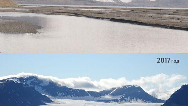 Ледник Альдегонда на Шпицбергене
