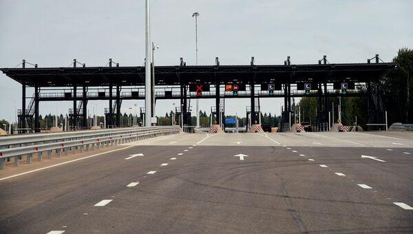 Пункт взимания платы на трассе М-11
