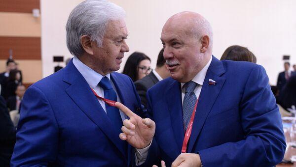 Председатель комитета Совета Федерации Федерального Собрания Российской Федерации по экономической политике Дмитрий Мезенцев
