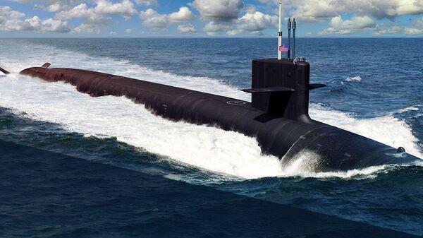 Проект подводной лодки типа Колумбия