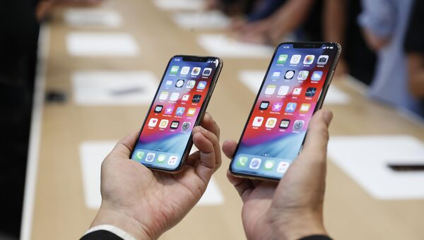 Новый Apple iPhone XS и XS Max. Архивное фото
