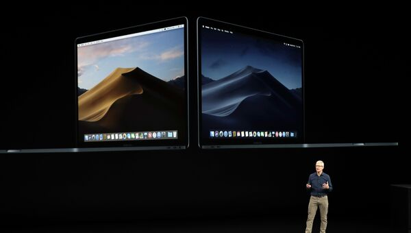 Генеральный директор Apple Тим Кук рассказывает о новом MacBook. 12 сентября 2018 года