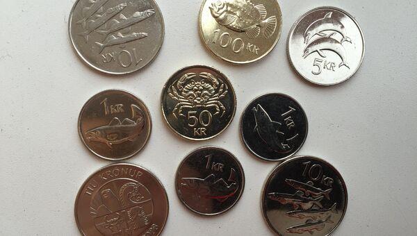 Значимость рыбной отрасли для Исландии хорошо заметна по ее монеткам - исландским кронам.