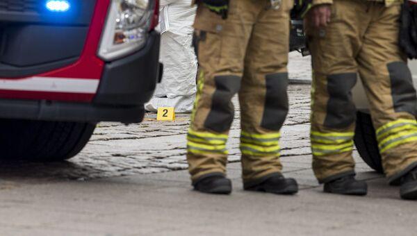 Автомобиль пожарной службы Финляндии. Архивное фото