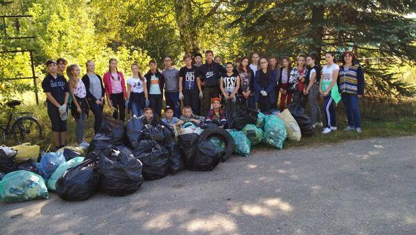 Акцию по уборке во Всемирный день чистоты провел проект Чистые игры