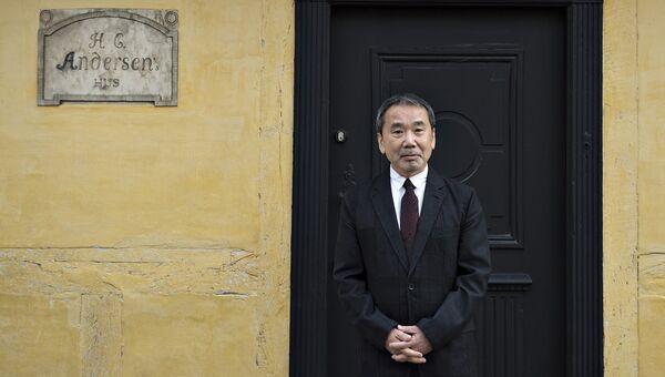 Японский писатель Харуки Мураками. Архивное фото