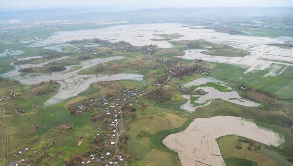 Последствия тайфуна Мангхут в Алькале, провинция Кагаян, Филиппины. 16 сентября 2018 года