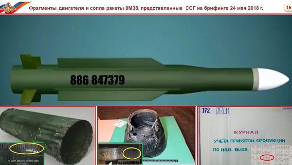 Представитель Минобороны рассказал, где стояла на вооружении сбившая МН17 ракета
