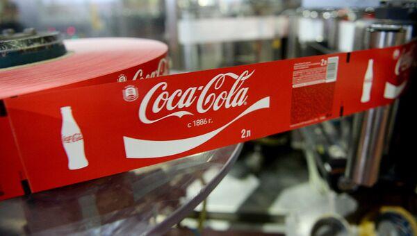 Завод Сoca-Cola HBC Россия. Архивное фото