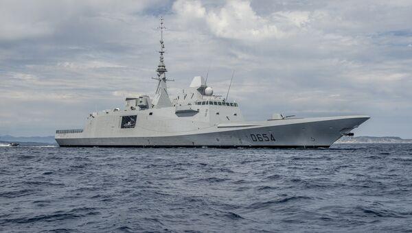 Французский фрегат Овернь. Архивное фото