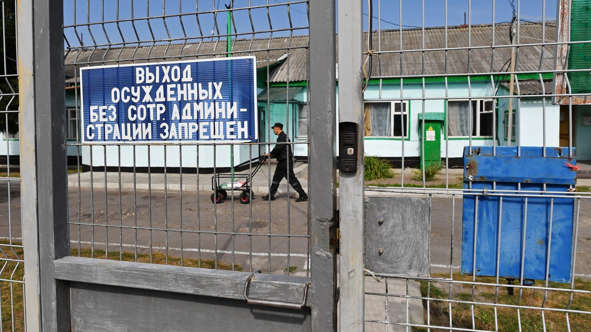 Заключенный в колонии - РИА Новости, 1920, 16.10.2020