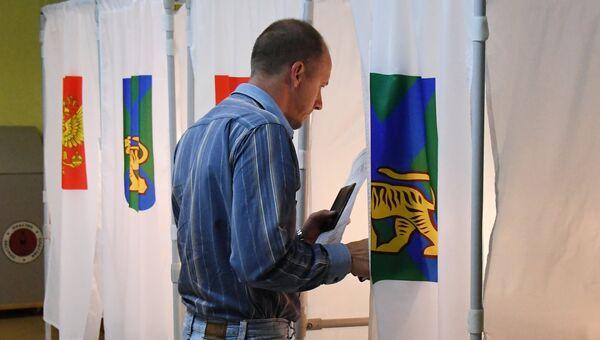 Выборы губернатора Приморья. Архивное фото