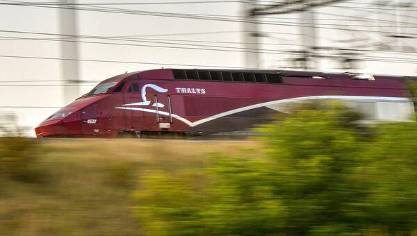 Поезд-экспресс Thalys во Франции. Архивное фото