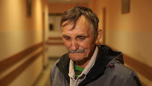 Ветеран труда Игорь Трошев на судебном заседании. Архивное фото.