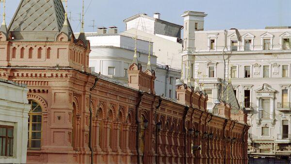Здание Малого манежа в Георгиевском переулке