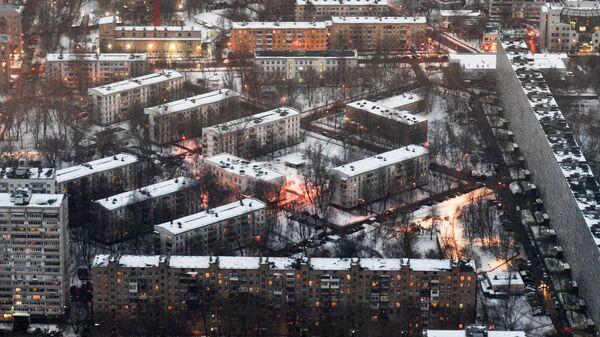 Жилые дома в Подмосковье. Архивное фото