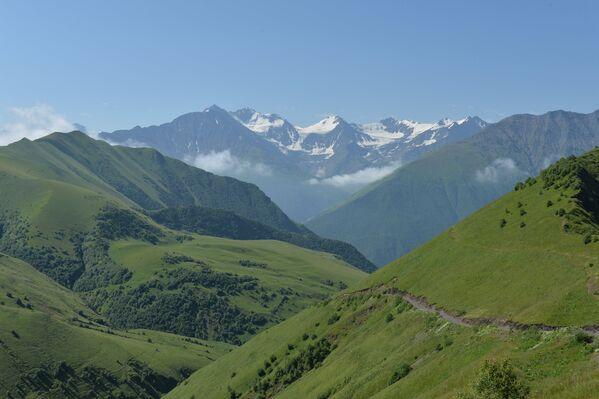 Горные районы Чеченской Республики