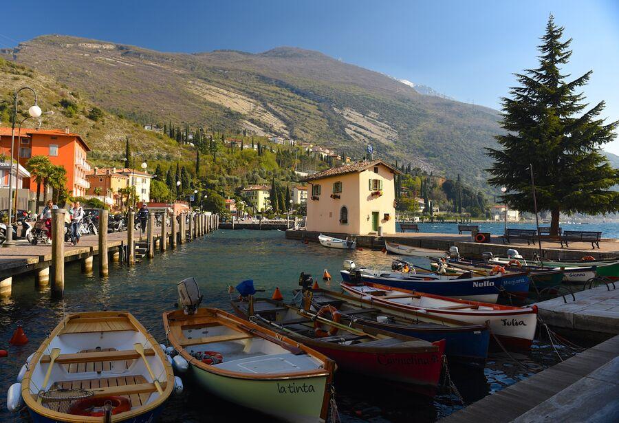 Италия. Набережная озера Гарда
